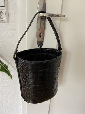 Handtasche im Krokolederlook