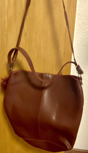 Handtasche in Bordeaux