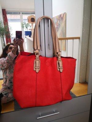 Handtasche in echtem Leder