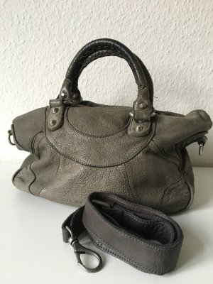 Liebeskind Handbag grey leather