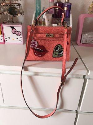 Handtasche in Kroko wie neu aus korea