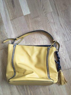Handtasche in Senfgelb