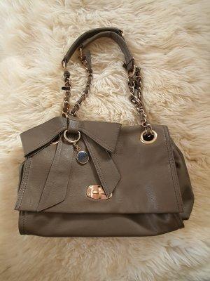 Handtasche in Taupe