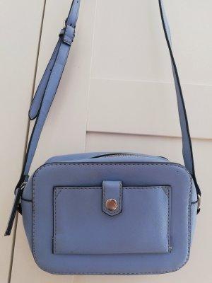 Handtasche klein hellblau