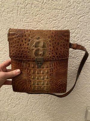 Handtasche Kroko optik