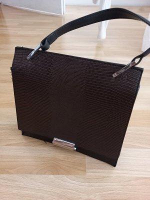 Handtasche Krokooptik