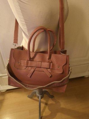 Handtasche Lederoptik rosa neu