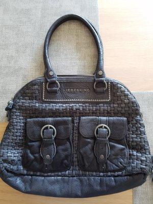 Handtasche Liebeskind marine echtes Leder