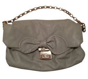 Marc Jacobs Handbag light grey leather