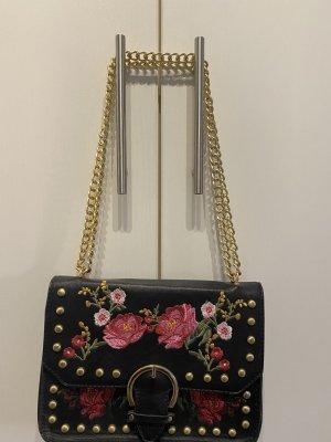 Handtasche mit Blumen