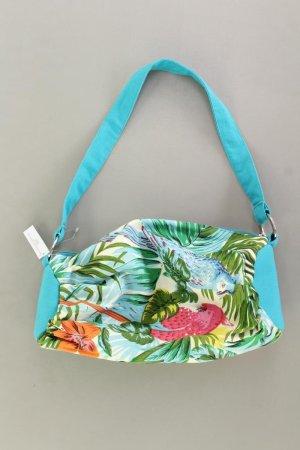 Handtasche mit Blumenmuster mehrfarbig aus Baumwolle