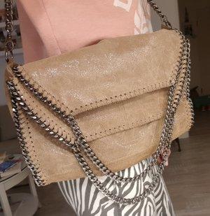 Handtasche mit Ketten Vera Pelle