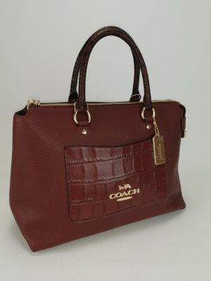 Coach Carry Bag bordeaux