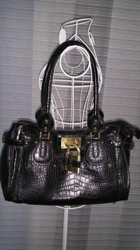 Handtasche mit Schloß