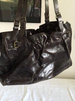 Claudio Orciani Handbag bordeaux-brown red