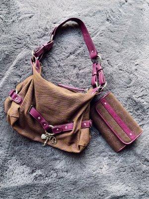 Handtasche passender Geldbeutel wie Neu