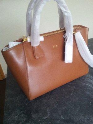 Handtasche Ralph Lauren Leder Tasche