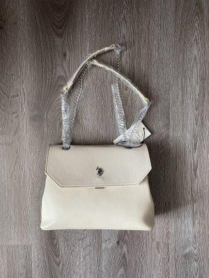 Handtasche Ralph Lauren polo neu Creme
