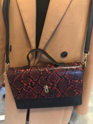 Handtasche Schlangen Muster