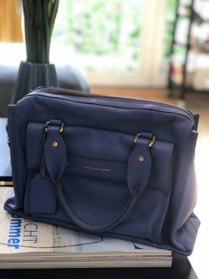 Handtasche Schultertasche Ralph Lauren hellblau