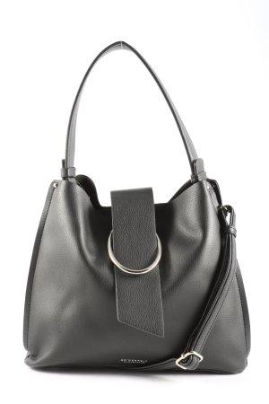 Seidenfelt Manufaktur Handtasche schwarz Casual-Look