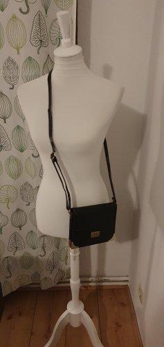 Handtasche schwarz gold