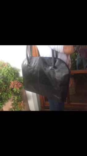 Handtasche, schwarz, groß