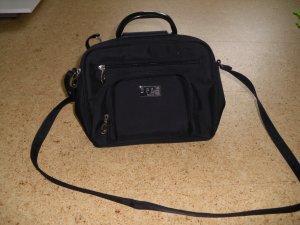 Handtasche, schwarz, stehend