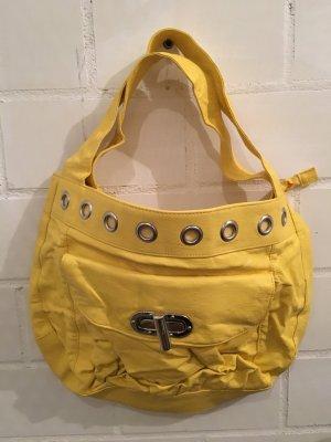 Handtasche Shopper Sonnengelb gelb Maxi