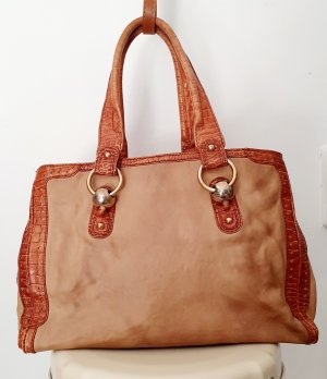 Celine Shopper cognac-beige cuir