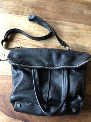 Handtasche/Shopper von Marc O'Polo, schwarz, Leder