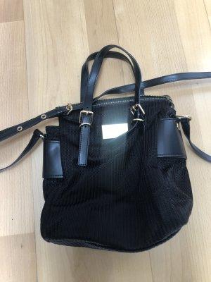 Handtasche, Stoff mit Leder, Bimba y Lola