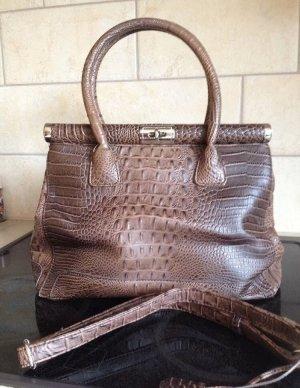 Handtasche Tasche braun