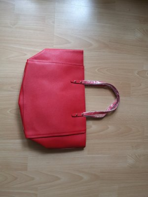 Handtasche Tragetasche rot Estee Lauder