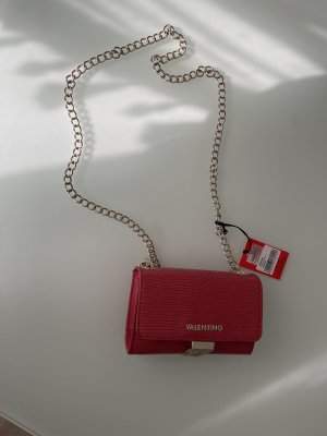 C. Valentino Crossbody bag red-gold-colored