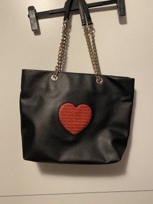 Valentino Shopper noir-rouge