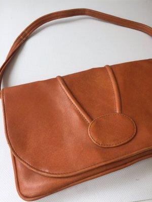 Handbag cognac-coloured