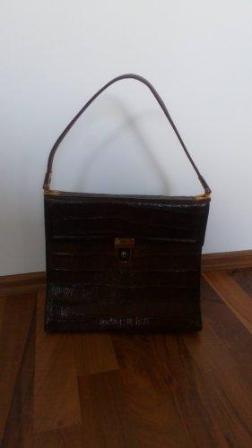 Handtasche Vintage Kroko