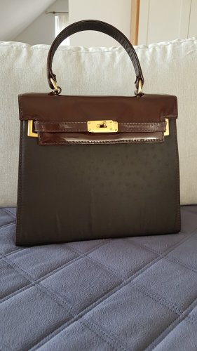 Bernd Berger Handbag black-brown