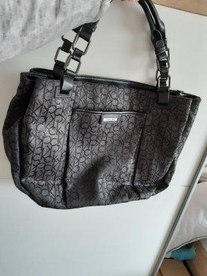 Calvin Klein Handbag black-silver-colored
