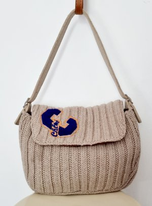 Chloé Handbag multicolored wool