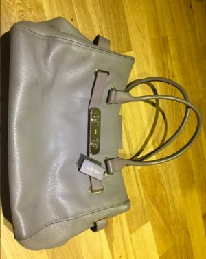 Coach Handbag silver-colored-grey