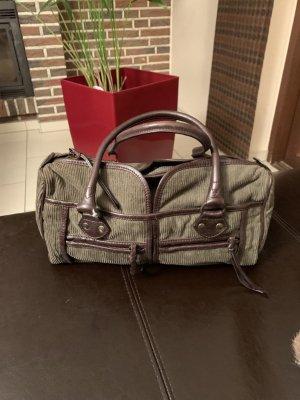 Coccinelle Handbag green grey-dark brown