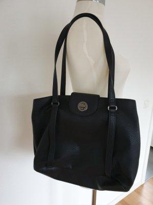 Handtasche von esprit schwarz