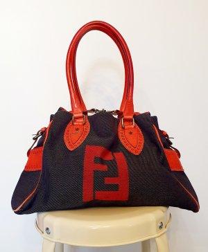 Handtasche von Fendi im jeans Look