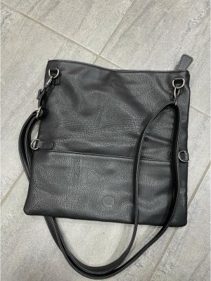 Handtasche von Fritzi aus Preußen, Clutch, schwarz - 29x29 cm
