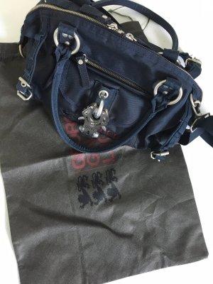 Handtasche von Gorge, Gina & Lucy, marineblau in super Zustand