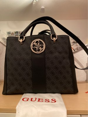 Guess Handbag black-beige