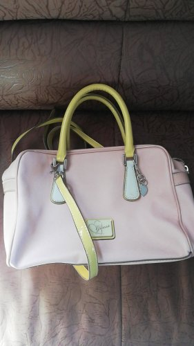 Guess Bolso amarillo claro-rosa claro