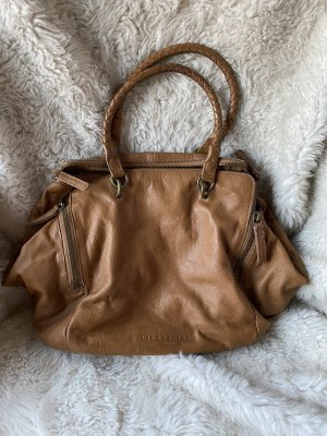 Liebeskind Handbag cognac-coloured